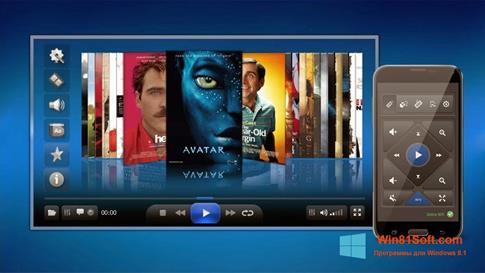 Скриншот программы ALLPlayer для Windows 8.1