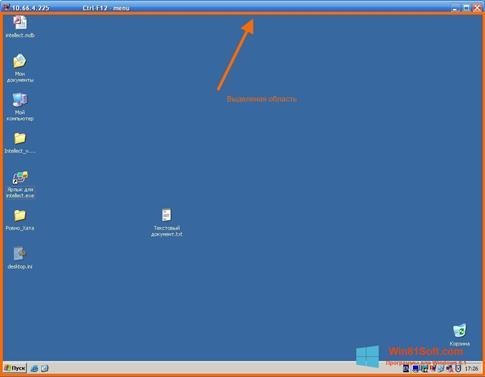 Скриншот программы Radmin для Windows 8.1