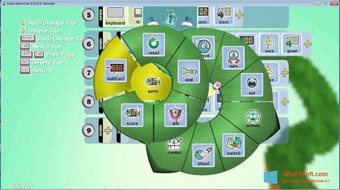 Скриншот программы Kodu Game Lab для Windows 8.1