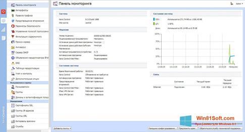 Скриншот программы Kerio Control для Windows 8.1