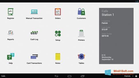 Скриншот программы Clover для Windows 8.1