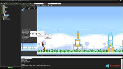 Скриншот программы GameMaker: Studio для Windows 8.1