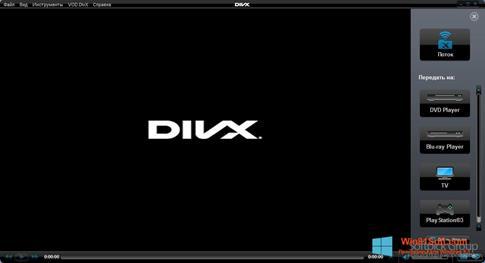 Скриншот программы DivX Player для Windows 8.1