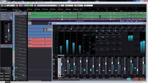 Скриншот программы Cubase для Windows 8.1