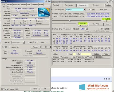 Скриншот программы SetFSB для Windows 8.1