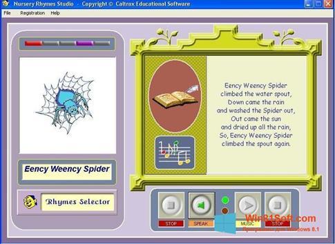 Скриншот программы Rhymes для Windows 8.1