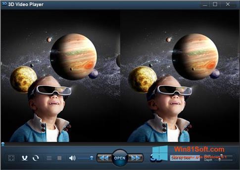 Скриншот программы 3D Video Player для Windows 8.1