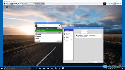 Скриншот программы VNC Viewer для Windows 8.1