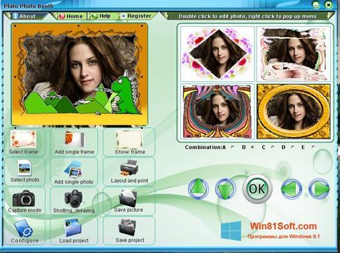 Скриншот программы Photo Booth для Windows 8.1
