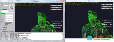 Скриншот программы Direct3D для Windows 8.1
