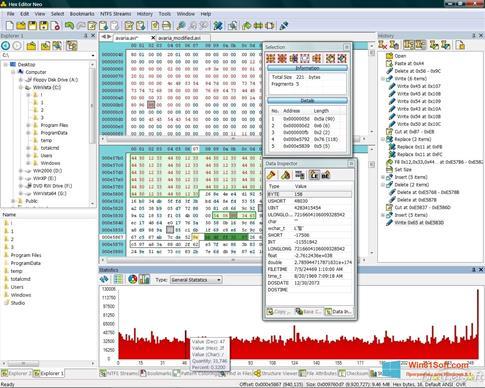 Скриншот программы Hex Editor Neo для Windows 8.1