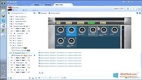 Скриншот программы RaidCall для Windows 8.1