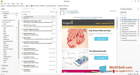 Скриншот программы eM Client для Windows 8.1