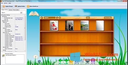 Скриншот программы Bookshelf для Windows 8.1
