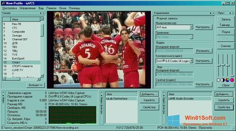 Скриншот программы iuVCR для Windows 8.1