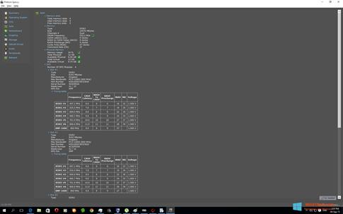 Скриншот программы Speccy для Windows 8.1