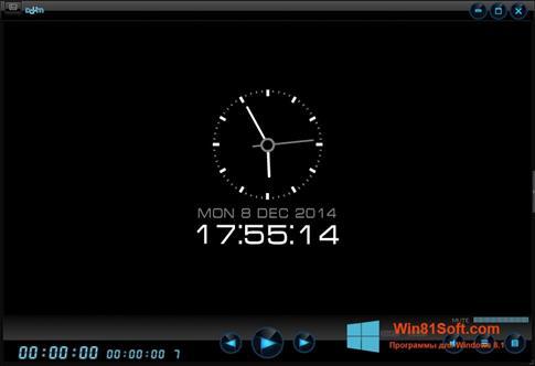 Скриншот программы Daum PotPlayer для Windows 8.1