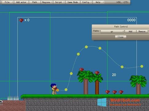 Скриншот программы Game Editor для Windows 8.1