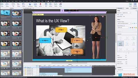 Скриншот программы Adobe Captivate для Windows 8.1