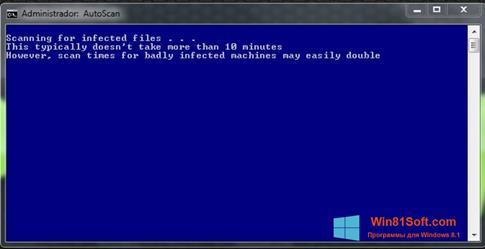 Скриншот программы ComboFix для Windows 8.1