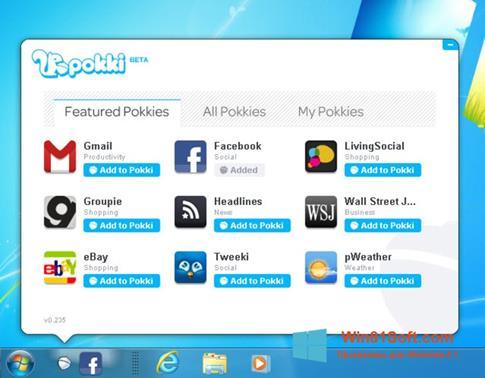 Скриншот программы Pokki для Windows 8.1