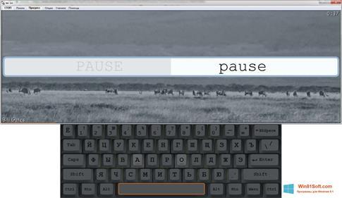 Скриншот программы Stamina для Windows 8.1