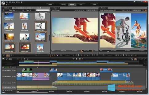 Скриншот программы Pinnacle Studio для Windows 8.1