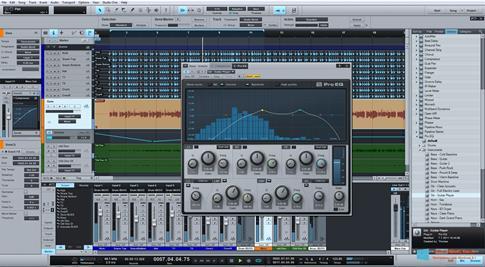 Скриншот программы Studio One для Windows 8.1