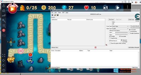 Скриншот программы Droid4X для Windows 8.1