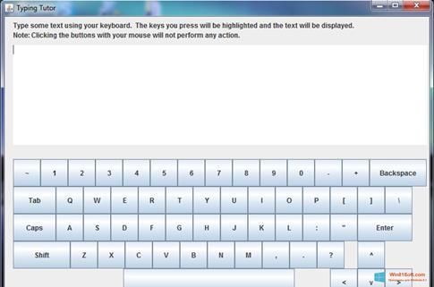 Скриншот программы Virtual Keyboard для Windows 8.1
