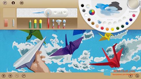 Скриншот программы Fresh Paint для Windows 8.1