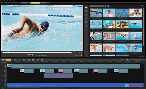 Скриншот программы Corel VideoStudio для Windows 8.1