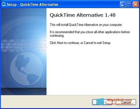 Скриншот программы QuickTime Alternative для Windows 8.1