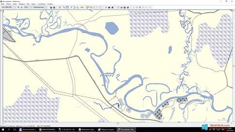 Скриншот программы MapSource для Windows 8.1