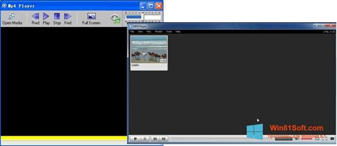 Скриншот программы MP4 Player для Windows 8.1
