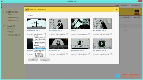 Скриншот программы BitMaster для Windows 8.1