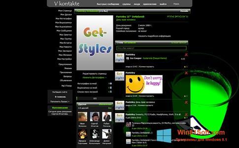Скриншот программы Get Styles для Windows 8.1