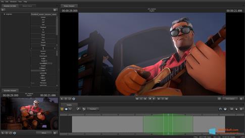 Скриншот программы Source Filmmaker для Windows 8.1