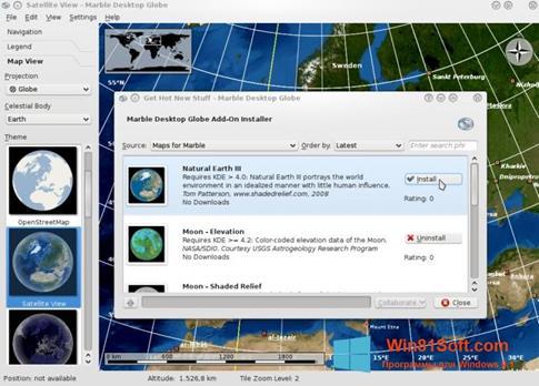 Скриншот программы Marble для Windows 8.1
