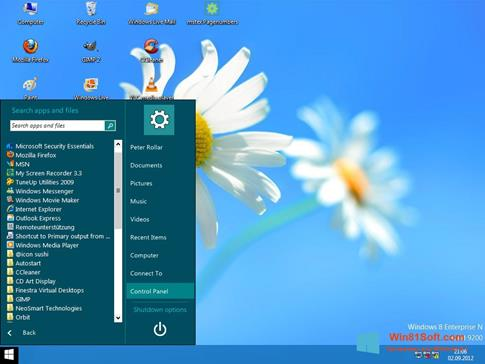 Скриншот программы ViStart для Windows 8.1