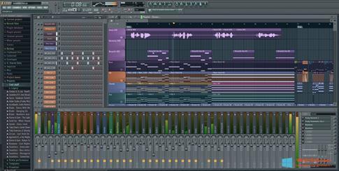 Скриншот программы FL Studio для Windows 8.1