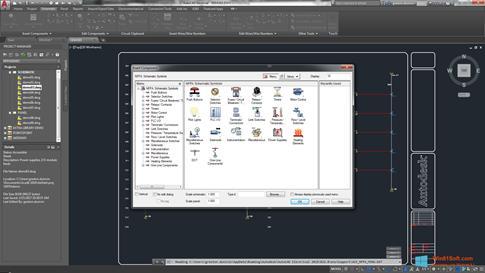 Скриншот программы AutoCAD Electrical для Windows 8.1