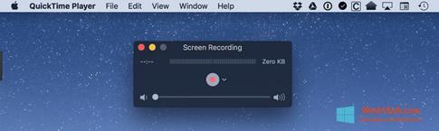 Скриншот программы QuickTime для Windows 8.1