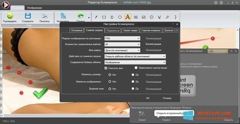 Скриншот программы Screenpresso для Windows 8.1