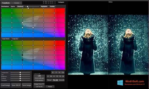 Скриншот программы 3D LUT Creator для Windows 8.1