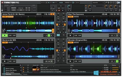 Скриншот программы Traktor PRO для Windows 8.1