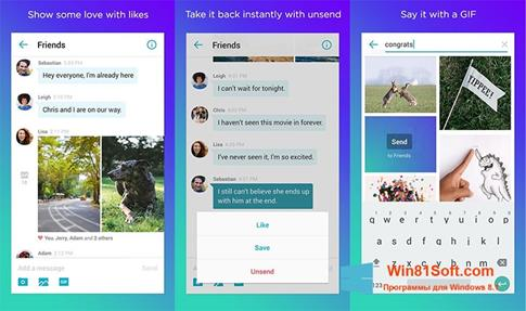 Скриншот программы Yahoo! Messenger для Windows 8.1