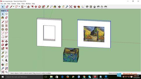 Скриншот программы SketchUp Make для Windows 8.1