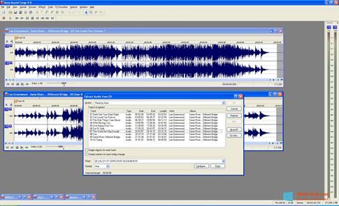 Скриншот программы Sound Forge для Windows 8.1